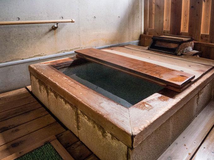 人気の露天風呂つき客室も