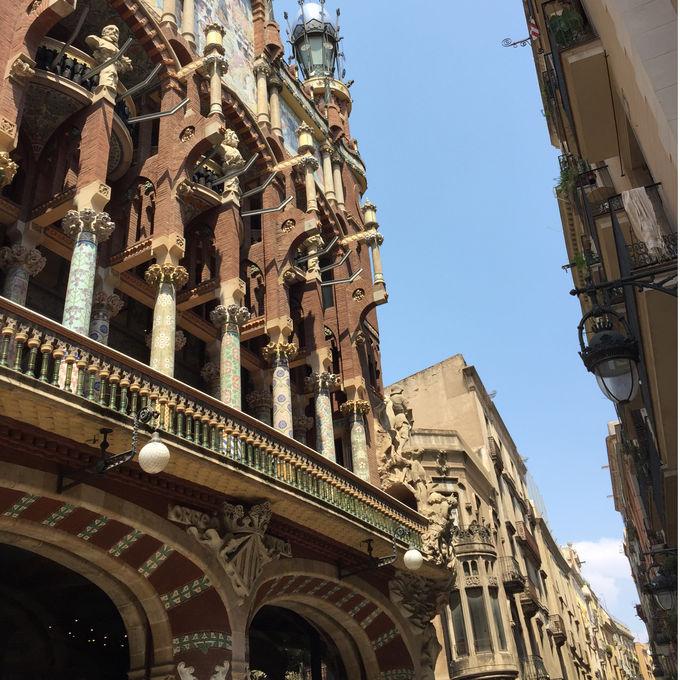 カタルーニャ音楽堂への行き方