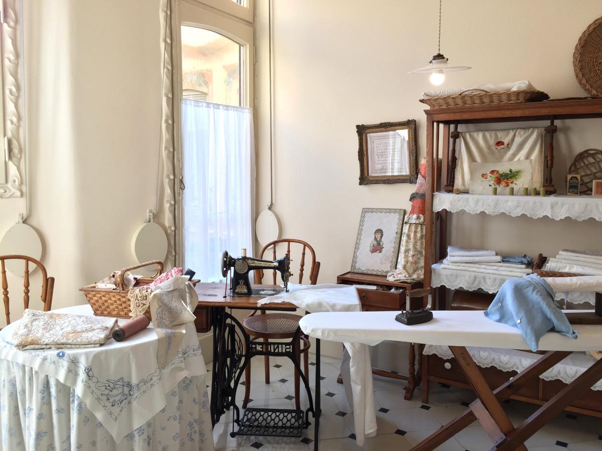 20世紀前半のバルセロナの富裕層の生活を再現した住宅