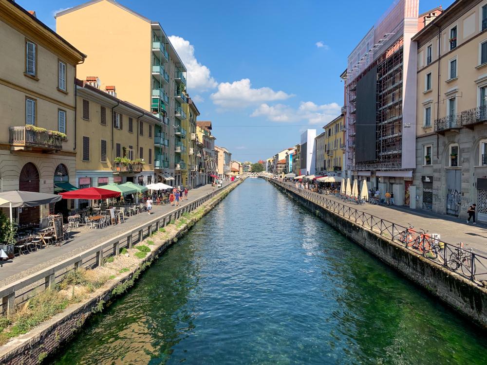 ナヴィリオ運河沿いでおいしいイタリア料理を!