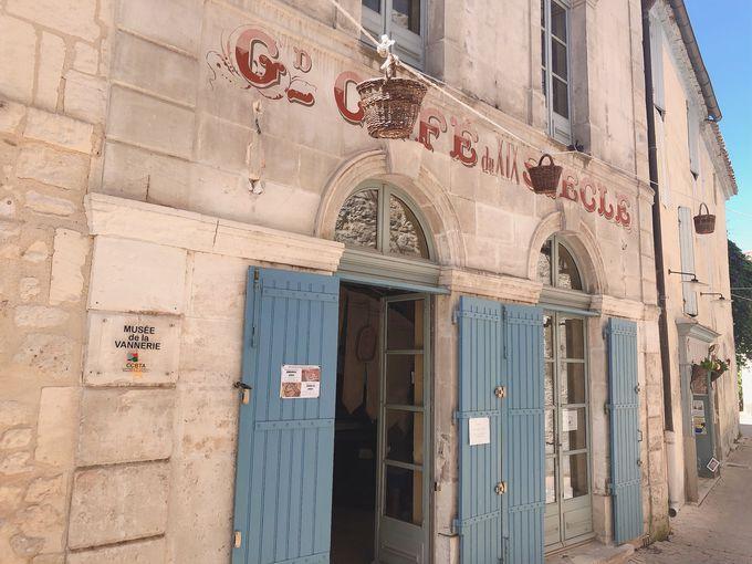 フランスのカゴの歴史を学ぼう、カゴ博物館へ