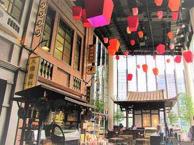 ランタンが魅力!台北のレトロなレストラン街「懷舊食光テイ」