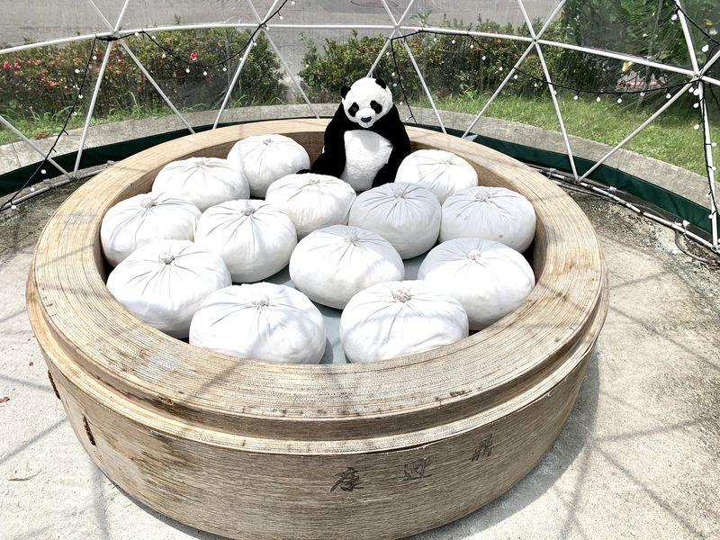 小籠包のオブジェが可愛い!台北陽明山人気の小籠包店「康迎鼎」