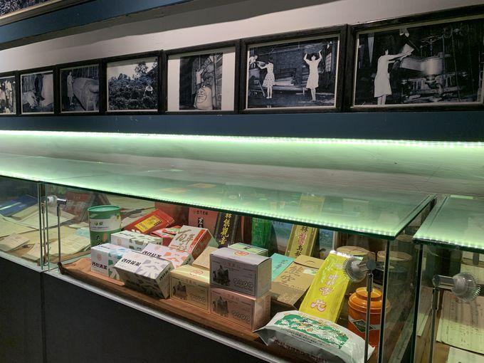 茶葉の製法が学べる展示館「文物展区」