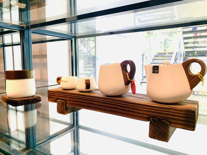 美的センス抜群!洗練された空間のお茶販売ショップ