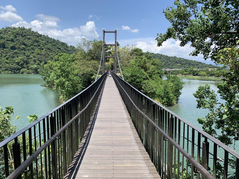 台湾宜蘭「梅花湖風景区」はサイクリングが楽しめる湖畔の行楽地!