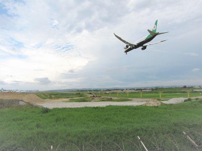 大迫力の絶景!飛行機ビューを楽しもう!