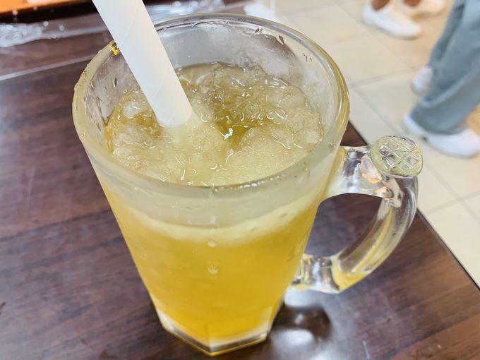 喉の渇きを潤す「檸檬愛玉」&「Peal Milk Tea」