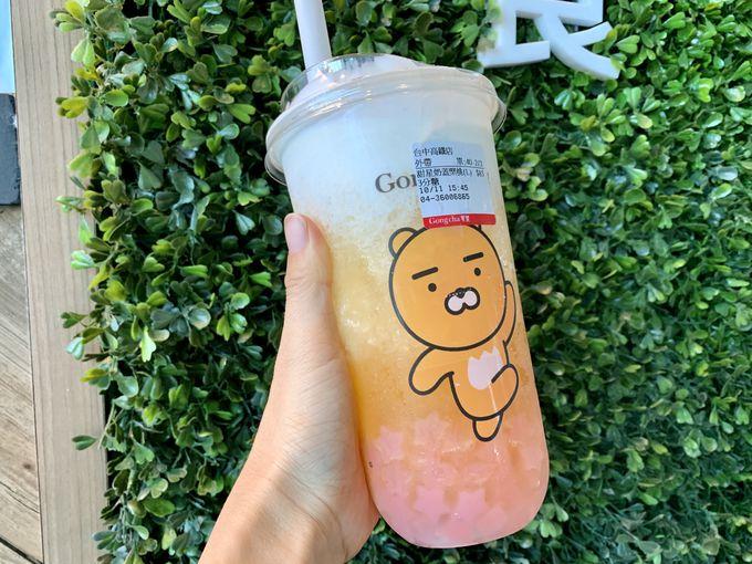 台湾茶専門店「貢茶」のドリンク