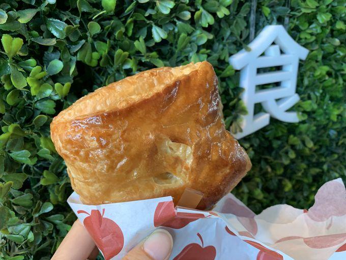 人気ベーカリー「呉寶春」のアップルパイ