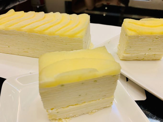 台中新名物!花鳥川のレモンミルクレープ