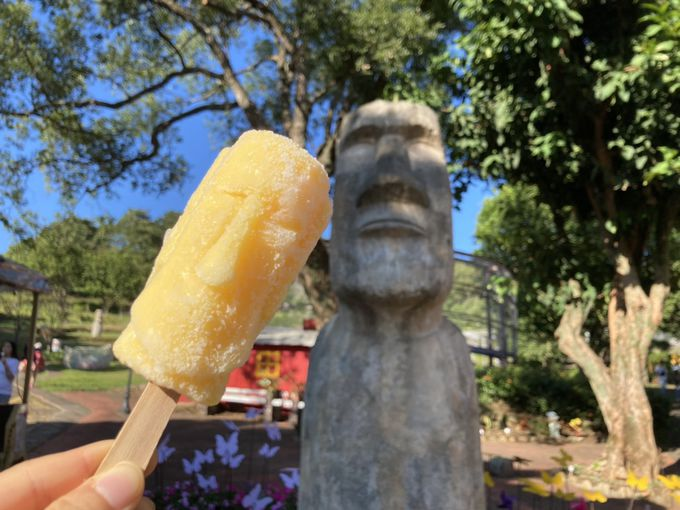SNSで人気のモアイアイスは食べるべし!