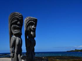 マナの宿る神殿「プウホヌア・オ・ホナウナウ国立歴史公園」ハワイ島