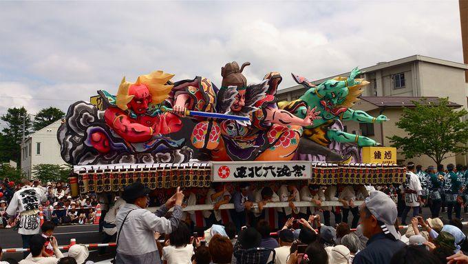 迫力NO.1☆青森ねぶた祭り