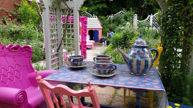 英国式の庭園がステキ!蓼科バラクライングリッシュガーデン