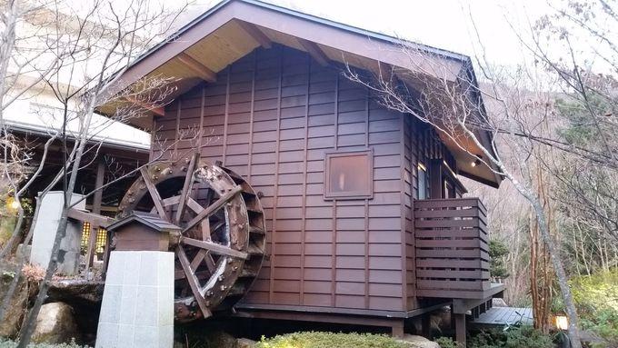 趣きのある入り口「長屋門」をくぐると・・・