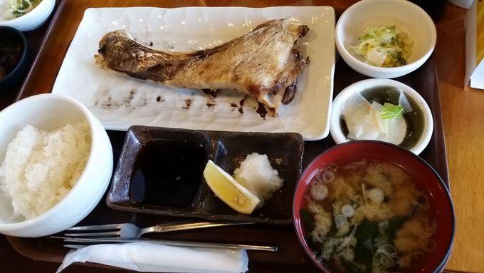 おすすめ2つ目は「三崎マグロカマ塩焼き定食」