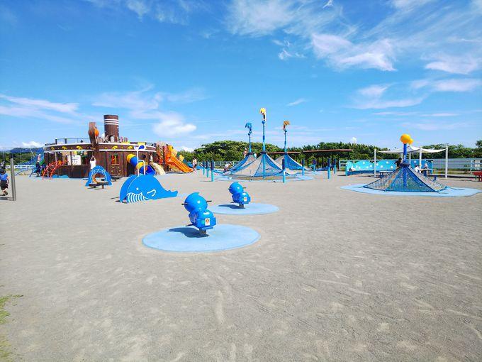 見ただけで子どもが走り出します!超大型遊具!