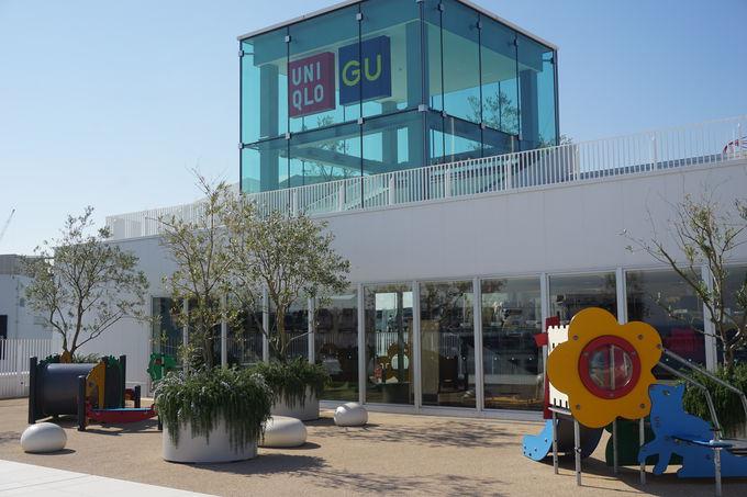 UNIQLO PARK 横浜ベイサイド店は海辺沿いの遊べるお店