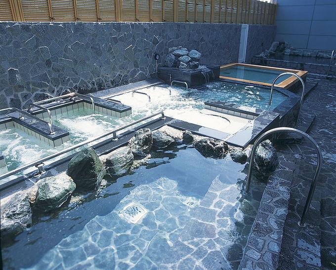海洋泉が楽しめるスパ「シーサイド・スパ八景島」