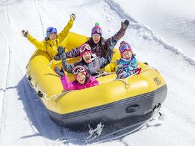 """元祖""""雪の遊園地""""長野「タングラムスキーサーカス」で雪上アクティビティ体験"""