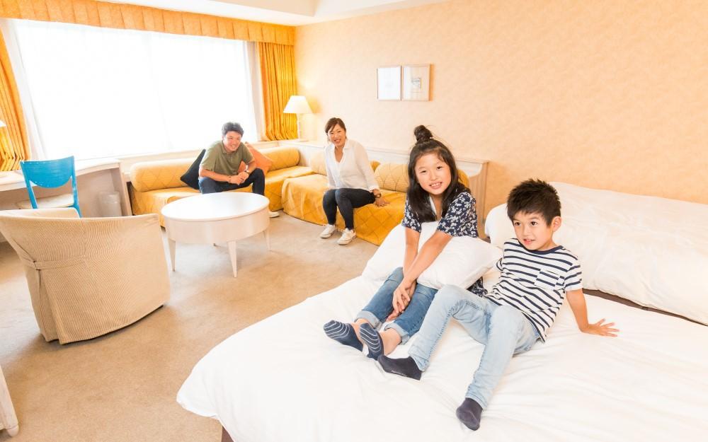 ゲレンデ直結「舞子高原ホテル」で楽々お泊まりスキー