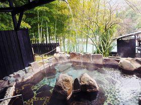 20畳の露天風呂を独り占め!湯河原「オーベルジュ湯楽」は驚きに満ちた美食の宿