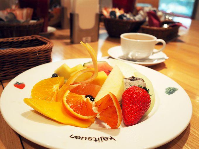 【フルーツ2店】極上の新鮮フルーツでビタミンチャージ!
