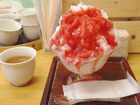 一年中食べたい!極上かき氷 東京都 谷中「ひみつ堂」