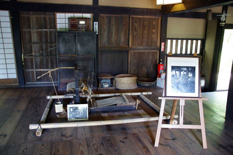 江戸時代の面影を残した座敷