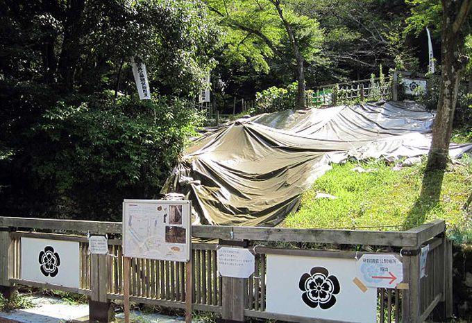昭和59年から発掘し続けている「信長居館跡」