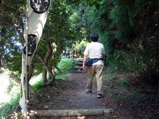 家康も歩いたであろう道を400年の時を経て歩く