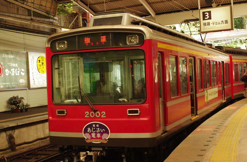 箱根登山鉄道で行く!梅雨シーズンのお楽しみ、箱根「あじさい電車」を楽しむ5つのポイント