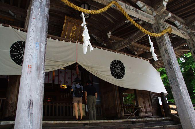 戸隠神社で一番にぎやかな中社、おみくじもユニーク!