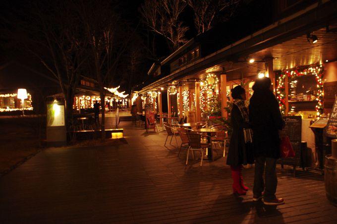【ハルニレテラス】こだわりの14店舗が集結。お土産選びやお食事に!