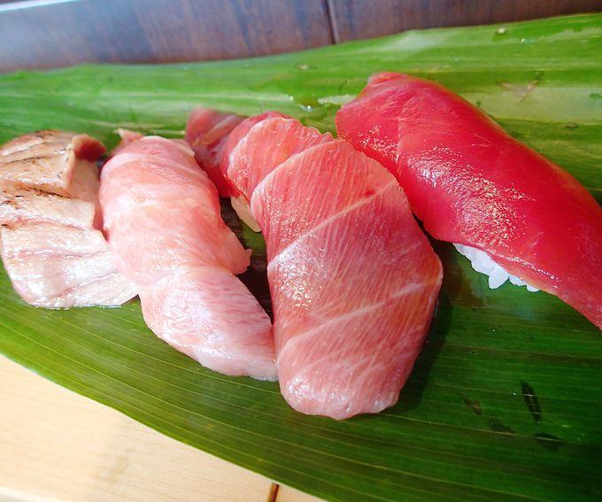 【築地 立ち食い寿司 おかめ】ハイレベルでリーズナブルなマグロ三昧!