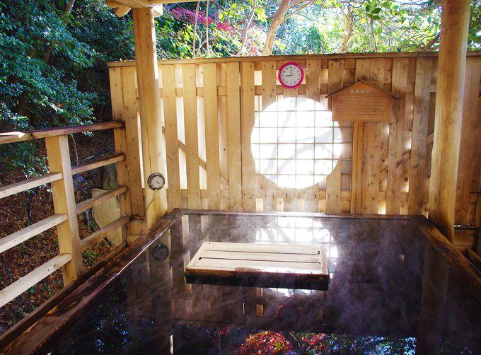 風呂数は男女合わせて14種類!随所で風水パワーを得られるHAPPY温泉