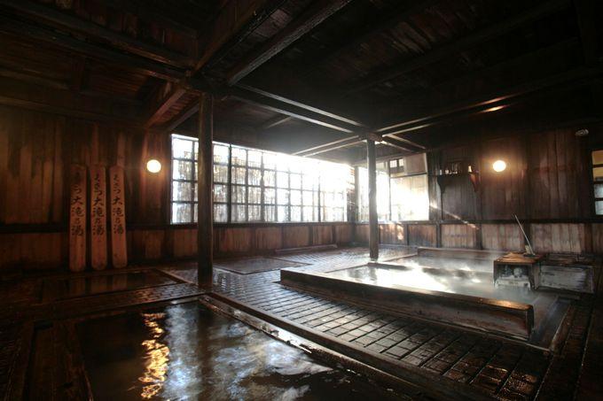 これぞ草津!草津伝統の入浴法「合わせ湯」体験が出来る「大滝乃湯」
