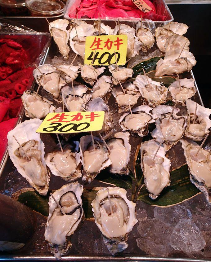 【築地 食べ歩き3】旬の大粒牡蠣が食べれる!斉藤水産「生カキ」