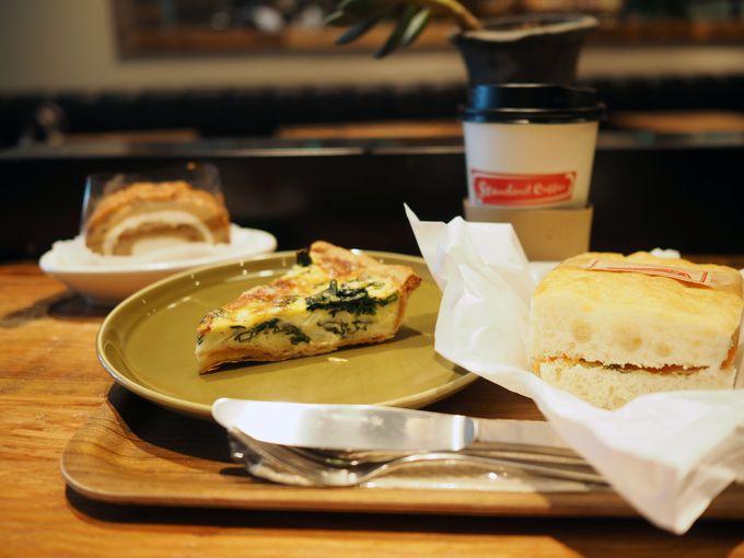 スイーツも絶品のカフェ「ザ サード カフェ バイ スタンダードコーヒー」
