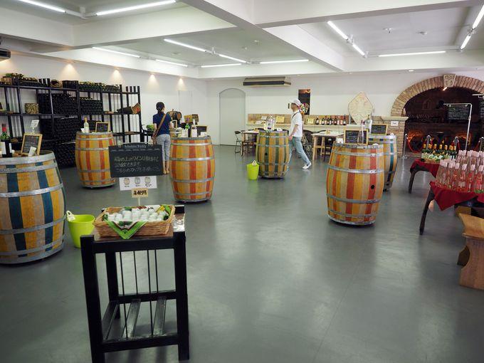好きなだけ甲州ワインを注げるワイナリー「ロリアン白百合醸造」