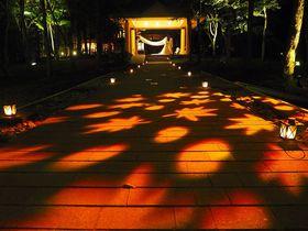 なんて幻想的!軽井沢高原教会「秋恋散歩」で過ごす秋の夜長