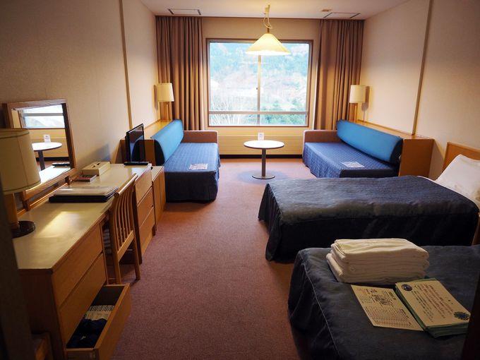 「万座プリンスホテル」の3つの宿泊棟は、こう使い分ける