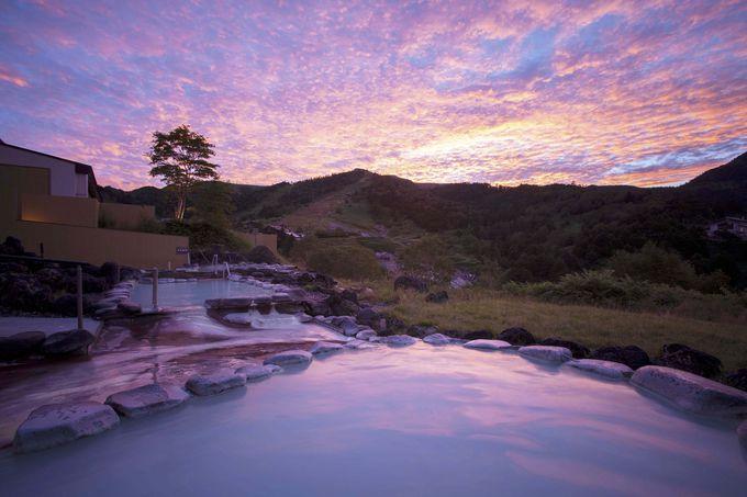 温泉ファンを魅了する、雲上の絶景露天風呂