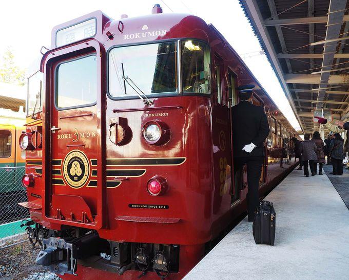 真田幸村モチーフの豪華列車!しなの鉄道「ろくもん」で優雅な信濃路の旅