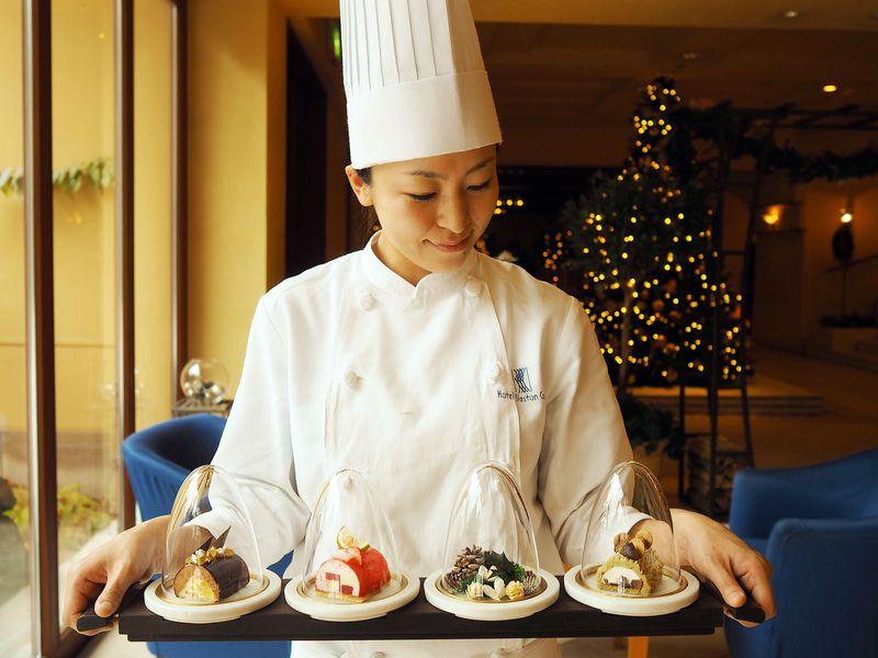 憧れの『星野リゾート 軽井沢ホテルブレストンコート』で過ごす美味しいクリスマス