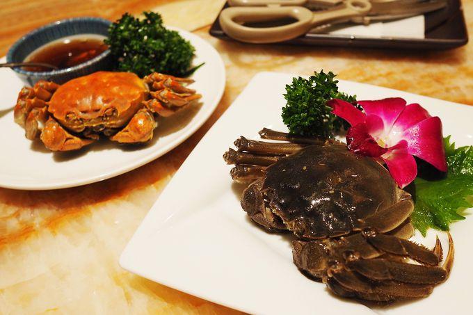 """蟹好き必食。珍味中の珍味、上海蟹の""""酔蟹"""""""