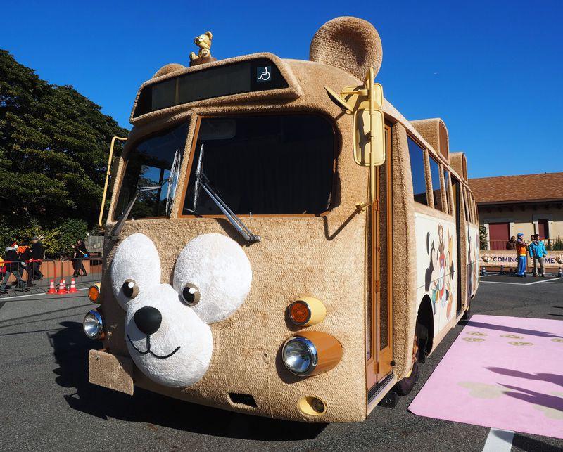 ふわふわ夢バス!全国を旅した『ダッフィーバス』が東京ディズニーシーに帰ってきた♪