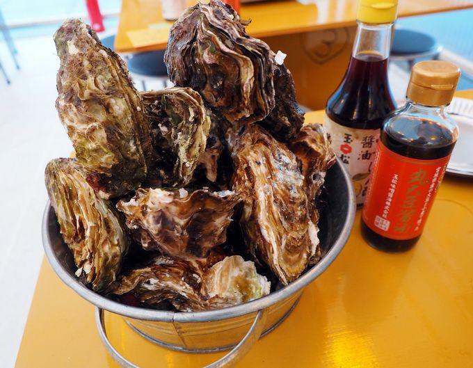 豪快!牡鹿半島で穫れた超新鮮な殻付き牡蠣を東京で