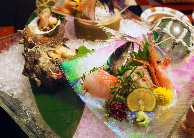 金目鯛にアジ!伊豆の贅沢な味覚を堪能